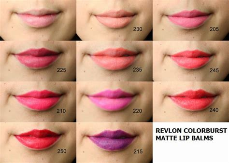 Revlon Lip Matte within color revlon colorburst matte balm swatch and