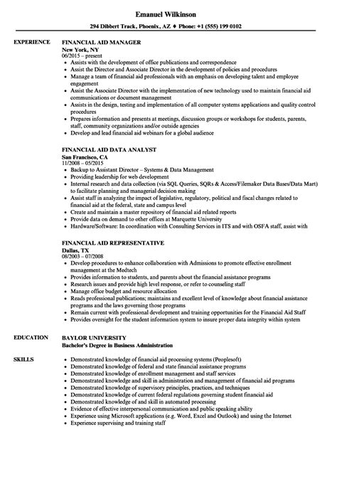 Financial Aid Specialist Sle Resume by Financial Aid Specialist Sle Resume Web Developer Cover Letter Exle Sle Administrative