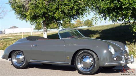 vintage porsche interior 1957 porsche 356 vintage speedster brand slate grey