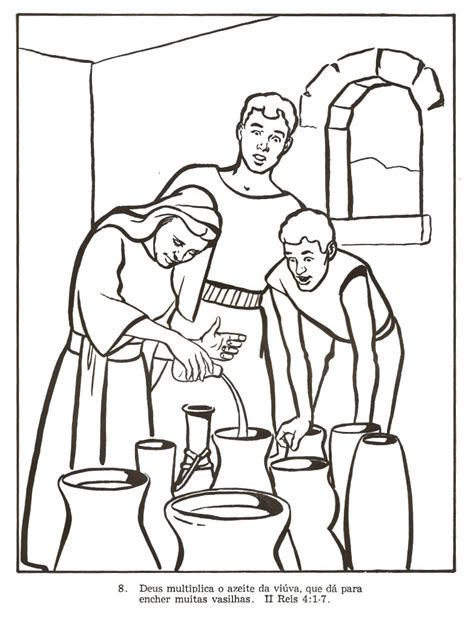 coloring page for elijah and the widow 1000 images about bible ot elijah on pinterest