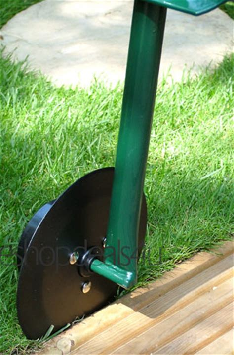 Landscape Edging Cutter New Grass Lawn Edger Handle Roller Cutter Cutting