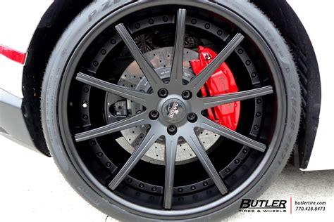 lamborghini huracan with 21in savini sv41 wheels