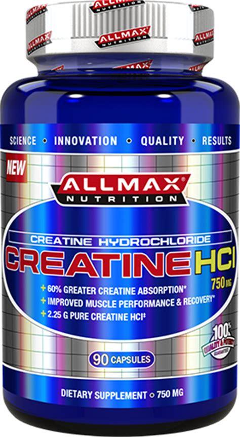 7 nutrition creatine hcl allmax nutrition creatine hcl at bodybuilding best