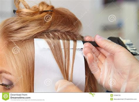 Hairstyle Photos Only Printer by Hair Salon Coloring Royalty Free Stock Photo Image