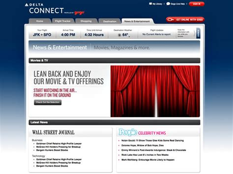 delta airlines wifi delta air lines d 233 veloppe le wifi en vol air journal