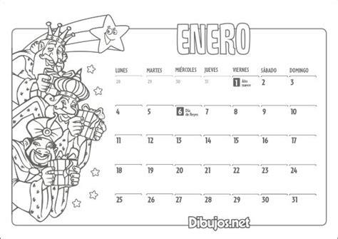 calendario para colorear 103 best images about educaci 243 n on pinterest spanish