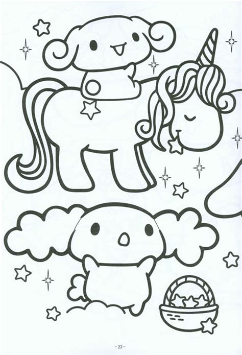 Kawaii Coloring Pages Bestofcoloring Com Colouring In