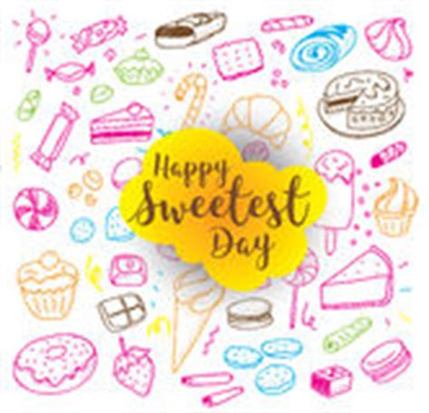 free sweetest day card templates sweet background sweetest day stock vector