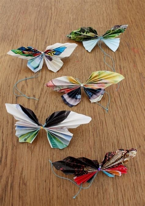 Make Paper Butterfly - how to make paper butterflies by carey flowers birds