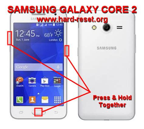 reset samsung duos 2 how to easily master format samsung galaxy core 2 core