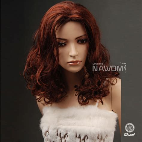 can hair be slightly curly or wavy amazing dark brown fashionable medium length wave faux