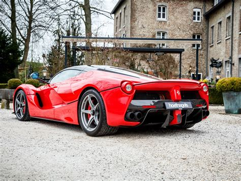 A Ferrari Drove 300 Kilometers In One And A Half Hours How Fast Was The Car Going by Ferrari Laferrari For Sale In The Netherlands Gtspirit