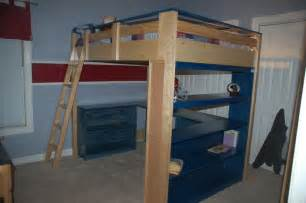 Low Bunk Bed Plans Low Loft Bed Plans Bed Plans Diy Blueprints