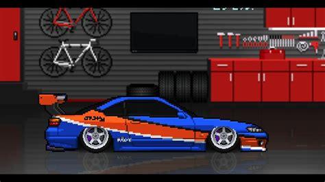 pixel car racer pixel car racer mona s15 build drift build
