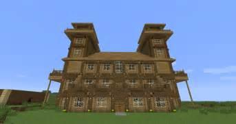 log home minecraft building inc