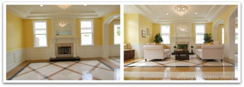 Staging A Living Room Before And After Los Angeles Home Staging Luxury New Construction Arcadia