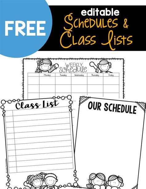 editable class list template the 25 best preschool newsletter ideas on