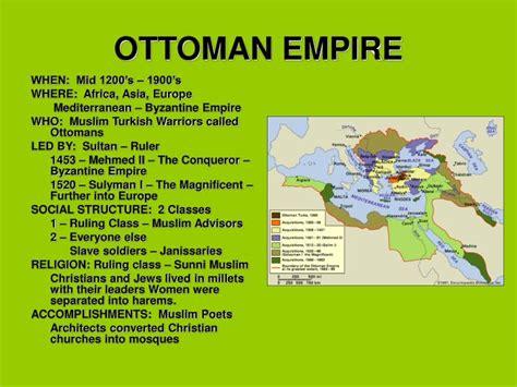 ottoman empire powerpoint