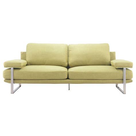 jamal couch modern sofas jamal lime modern sofa eurway