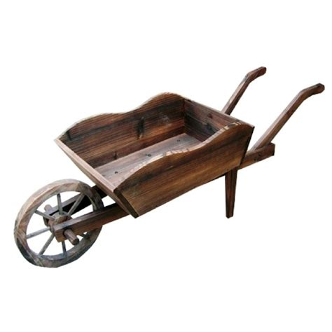 Wooden Wheelbarrow Planter by Wooden Wheelbarrow Planter Pismo Bob S
