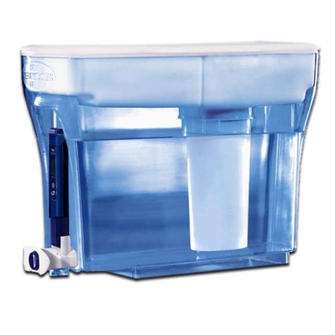 Water Dispenser With Filter 23 cup container water dispenser filtration system carbon dual ion exchange ebay