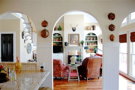 Living Room Mould Recipe My Houzz Country Meets Southern Farmhouse Style In