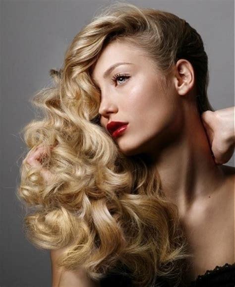 hairstyles volume curls elegant christmas hairstyle ideas