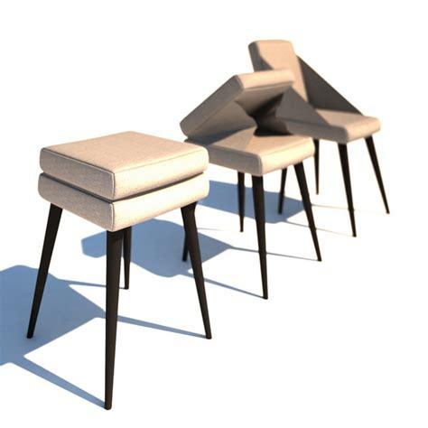 Stool Chair by Chair Stool By Soslan Naniev Chairblog Eu