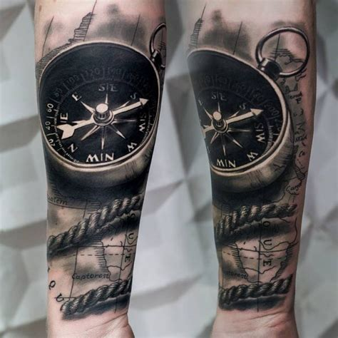 tattoo compass 3d compass tattoo designs with meaning nautical compass