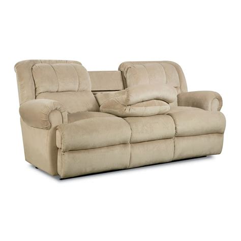 fold down sofa lane 323 46 evans double reclining sofa with fold down