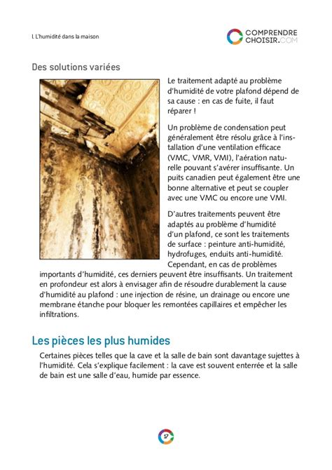 Probleme De Condensation probleme de condensation dans la maison ventana