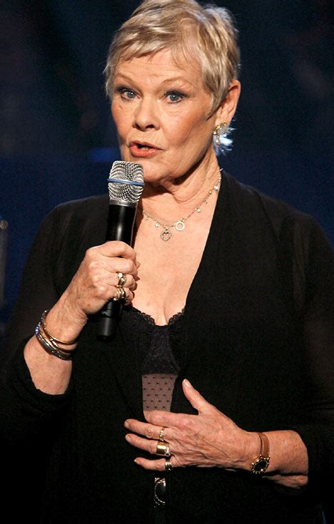 the day judi dench flashed more than she bargained for