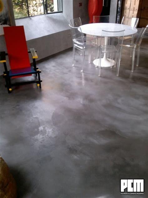 pavimenti soggiorno pavimento in cemento spatolato soggiorno e loft