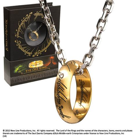 the lord of the rings the one ring on chain brand new book