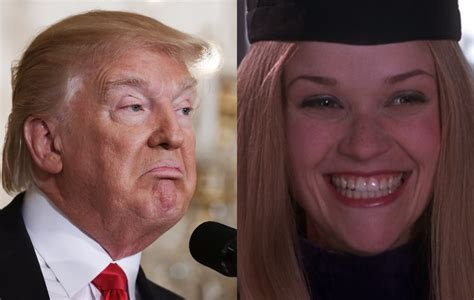 donald trump legally blonde did donald trump plagiarise a speech from legally blonde