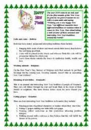 new year traditions worksheet worksheet new year 180 s traditions