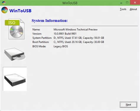 install windows 10 in usb how to clone existing windows installation to usb and make