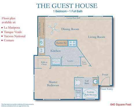 guest house floor plan southern house plans with in suite cottage house plans