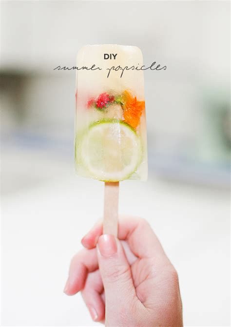 diy refreshing summer popsicles party entertaining