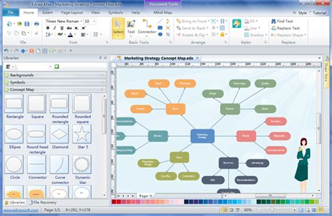 Home Map Design Maker Software by Concept Mapping Maker
