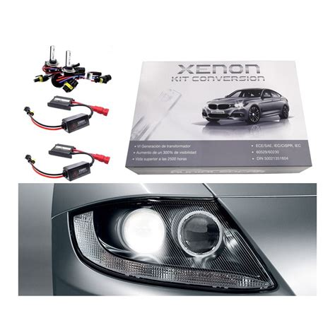 6000k color kit xenon h7 6000k 8000k o 4300k tipo 1 estandar 35w