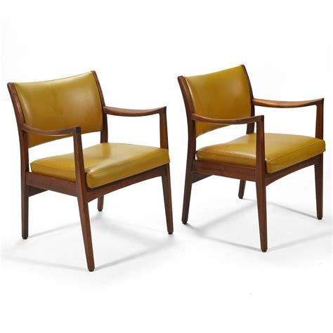 johnson chair pair of walnut armchairs by johnson chair co for sale at