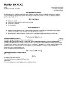resume format for freshers optometrist in houston texas optometry resume exles find the best optometry resume sles livecareer