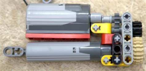 m and l motors attaching a motor directly to a linear actuator lego