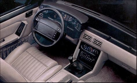 87 Mustang Interior by Timeline 1992 Mustang The Mustang Source