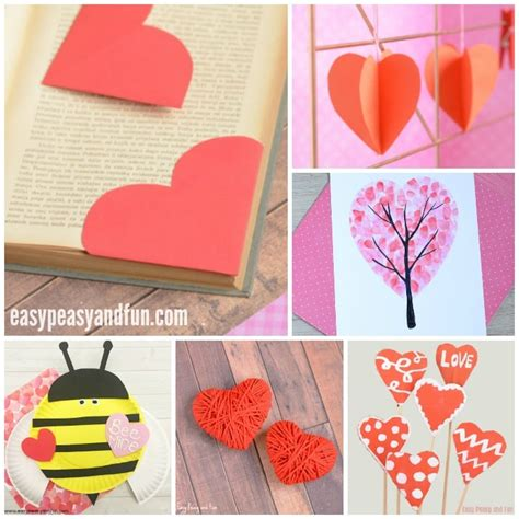 day craft for valentines day crafts for easy peasy and