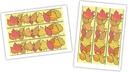 printable leaves twinkl twinkl resources gt gt autumn display borders gt gt thousands of