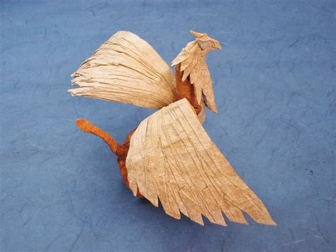 How To Make An Origami Griffin - derek mcgann s origami gryphon