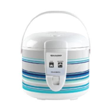 Sharp Ks N18me L Rice Cooker White jual rice cooker penanak nasi harga terbaik blibli