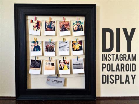 how to display prints diy instagram polaroid display persnickety prints